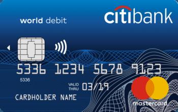 Citibank  Дебетовая карта